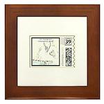 Dan Stamp.... Framed Tile