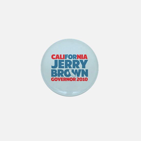 For Jerry Brown Mini Button