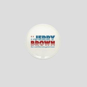 Brown for CA Governor Mini Button