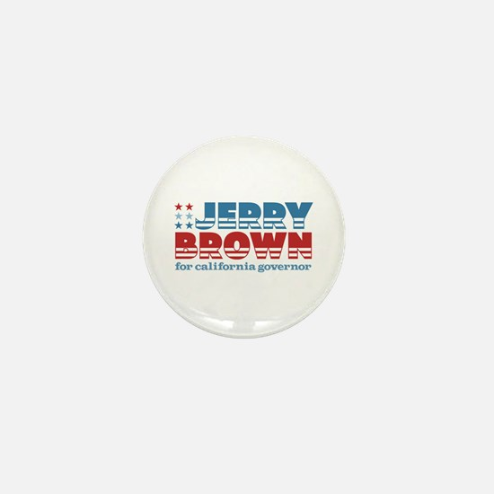 Brown for CA Governor Mini Button