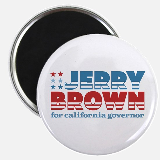 Brown for CA Governor Magnet