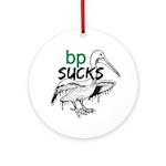 Bp Sucks Ornament (Round)