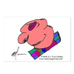 Heads and Doormen Postcards (Package of 8)