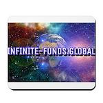 Infinite Funds Global Glow Mousepad