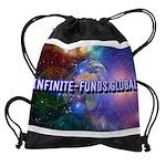 Infinite Funds Global Glow Drawstring Bag