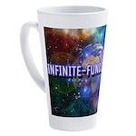 Infinite Funds Global Glow 17 oz Latte Mug