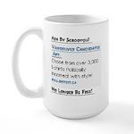Adsenseless.... Large Mug