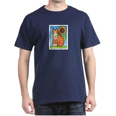 GINGER TUX Adult T-Shirt (Choice of Colors)