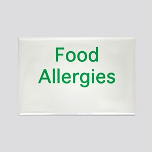 Food Allergies Rectangle Magnet