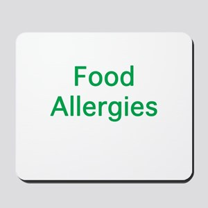 Food Allergies Mousepad