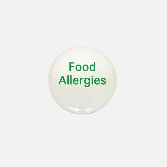 Food Allergies Mini Button