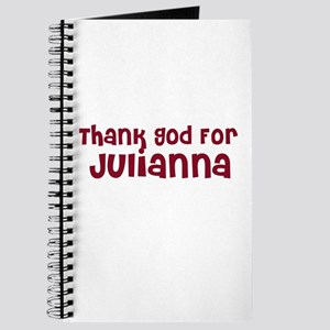 Thank God For Julianna Journal