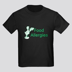 Food Allergies Kids Dark T-Shirt