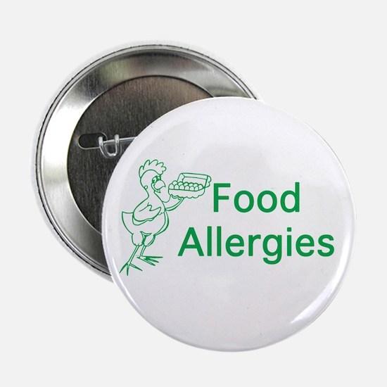 "Food Allergies 2.25"" Button"