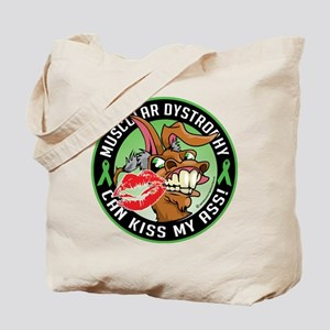 Muscular Dystrophy Can Kiss M Tote Bag