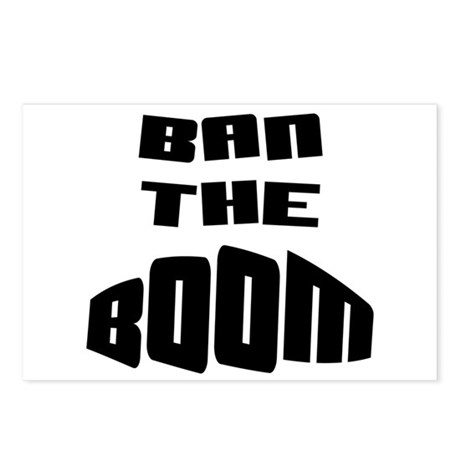 Ban The BOOM!!! Postcards (Package of 8)