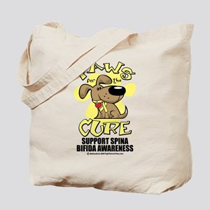 Paws For The Cure Dog Spina B Tote Bag