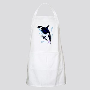 Orca Mom and Baby Apron