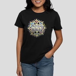 Spina Bifida Lotus Women's Dark T-Shirt