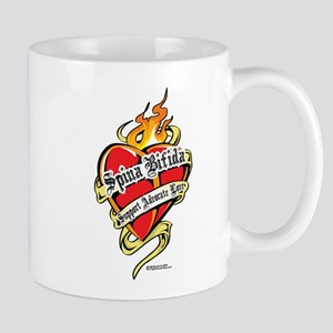 Spina Bifida Tattoo Heart Mug