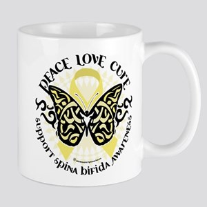 Spina Bifida Butterfly Tribal Mug