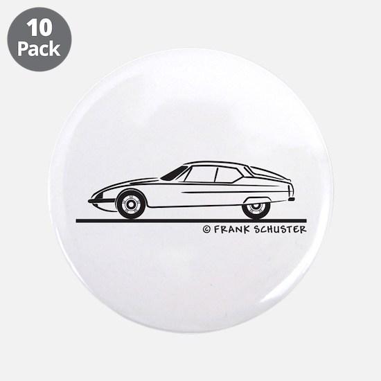 """Citroen SM 3.5"""" Button (10 pack)"""