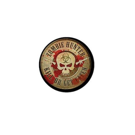 Zombie Hunter Distressed Mini Button (10 pack)