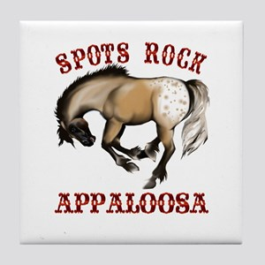 More Spots Rock Shirt Tile Coaster