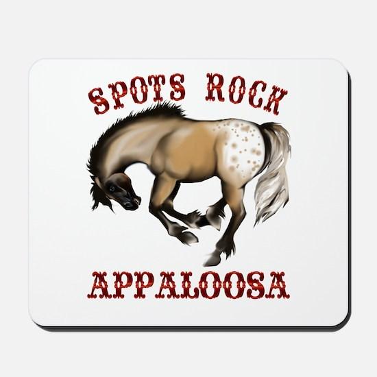 More Spots Rock Shirt Mousepad