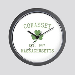 Cohasset MA Wall Clock