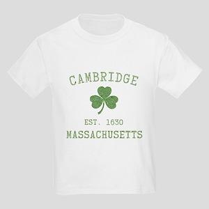 Cambridge MA Kids Light T-Shirt