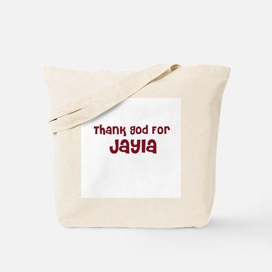 Thank God For Jayla Tote Bag