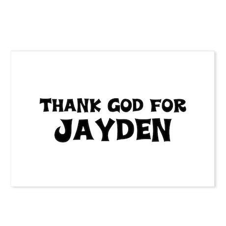 Thank God For Jayden Postcards (Package of 8)