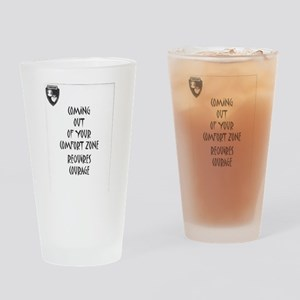 Comfort Zone Drinking Glass
