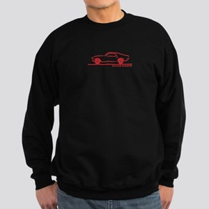 70 Mustang Fastback Sweatshirt (dark)