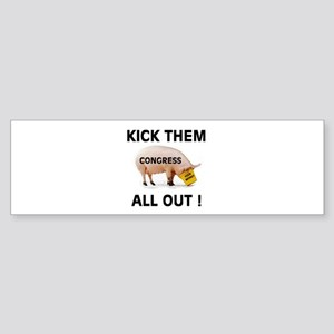 CONGRESS PIGS Sticker (Bumper)