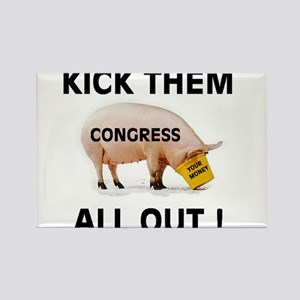 CONGRESS PIGS Rectangle Magnet