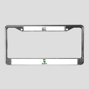 100% IRISH (LUCKY) License Plate Frame