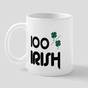 100% IRISH (LUCKY) Mug