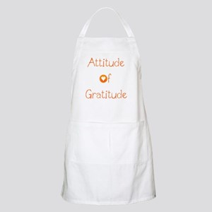 Attitude of Gratitude Light Apron