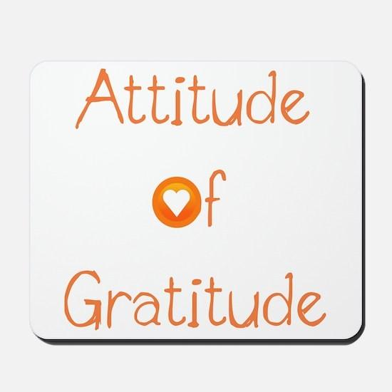 Attitude of Gratitude Mousepad