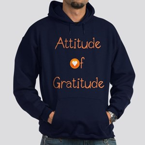 Attitude of Gratitude Hoodie (dark)