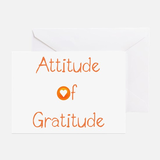 Attitude of Gratitude Greeting Cards (Pk of 20)