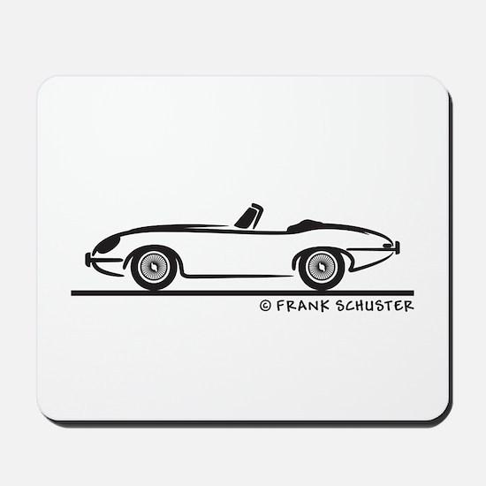Jaguar E-Type Roadster Mousepad