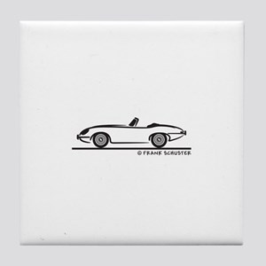 Jaguar E-Type Roadster Tile Coaster