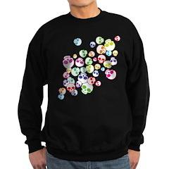Colorful Skulls Sweatshirt