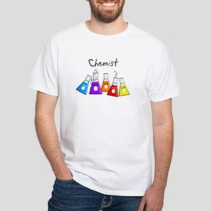 Chemist White T-Shirt