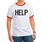 Help (black) Ringer T