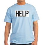 Help (black) Light T-Shirt