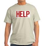 Help (red) Light T-Shirt